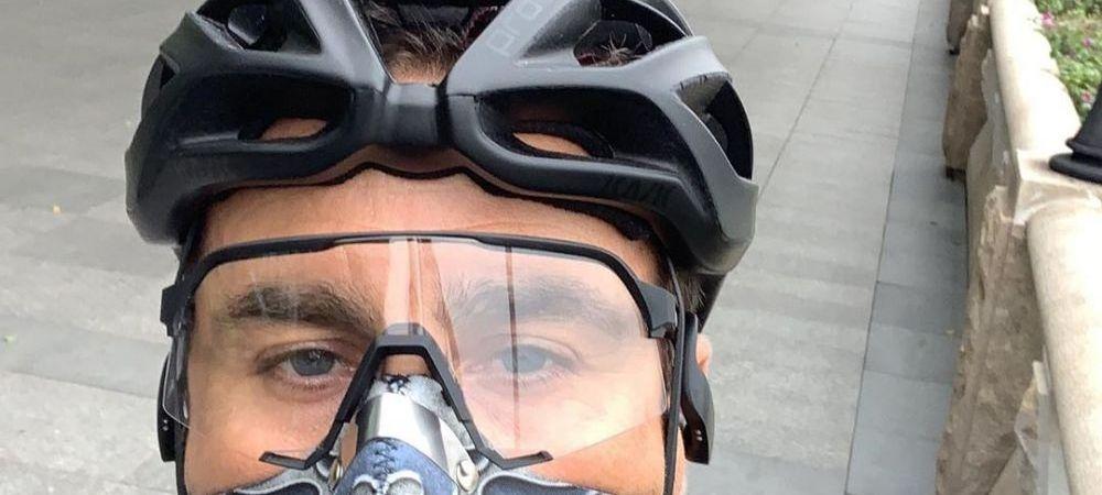 Lucrurile revin la normal in China! Fabio Cannavaro, fost campion mondial cu Italia, a iesit in parc cu bicicleta si imaginile au devenit virale