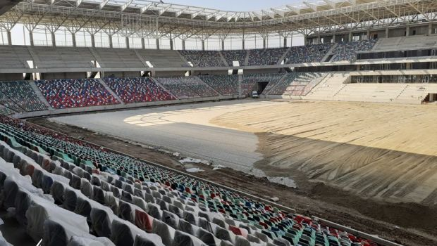 """Lucrarile nu se opresc din cauza pandemiei, iar totul e aproape gata! Cum arata azi stadionul Ghencea si cand se va putea juca din nou in """"templul fotbalului romanesc"""""""