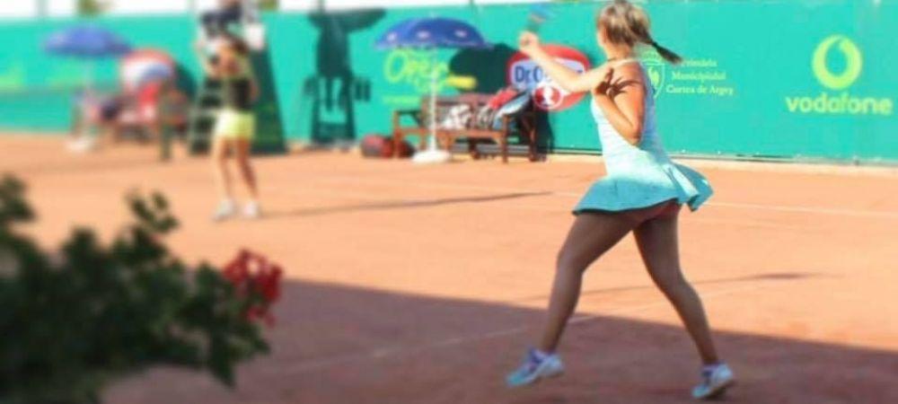"""Hai, ajuta-ma acum!"" Andreea Prisacariu, reactie emotionanta dupa ce a pierdut prima finala de turneu 25k in cariera"