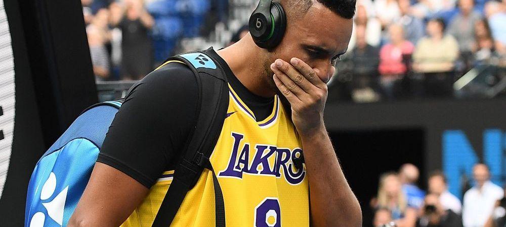 Cel mai IMPRESIONANT gest comemorativ pentru Kobe Bryant! Nick Kyrgios si-a facut TATUAJUL ANULUI: apar Kobe Bryant si LeBron James