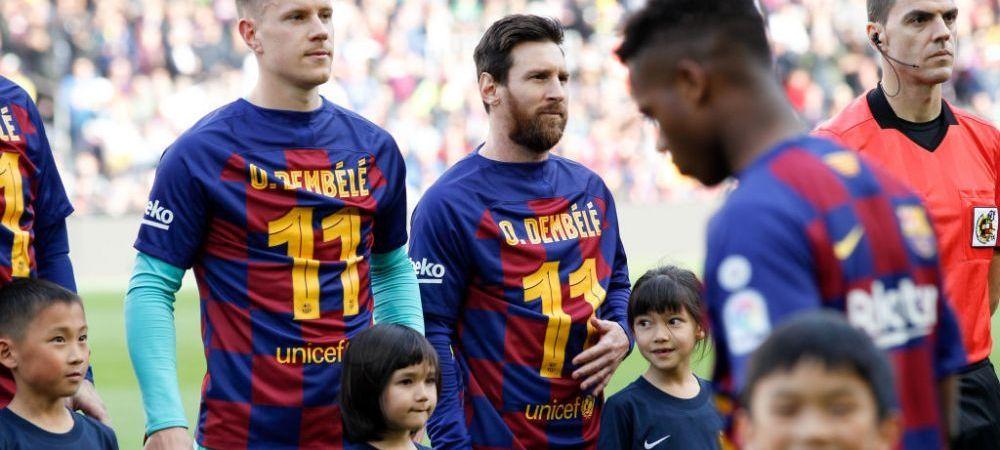 Barcelona face curatenie totala! Catalanii vor sa scape de 9 jucatori, printre care Dembele, Rakitic, Coutinho si Vidal