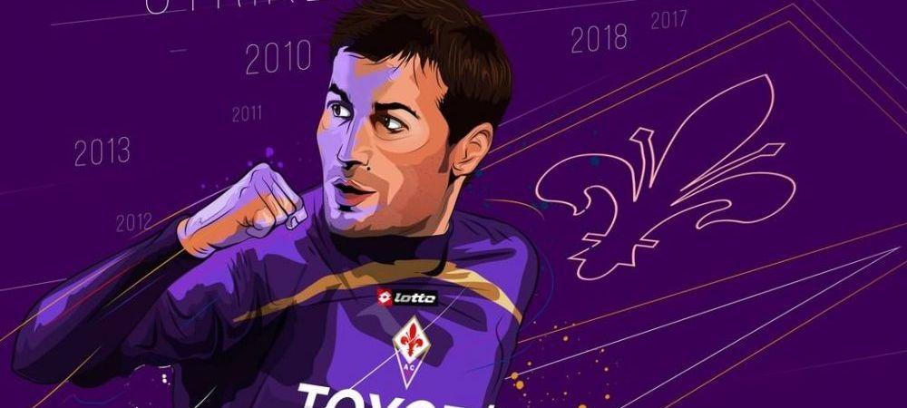 """Adrian Mutu a fost inclus in echipa ideala a Fiorentinei din ultimul deceniu! Care este """"primul 11"""""""
