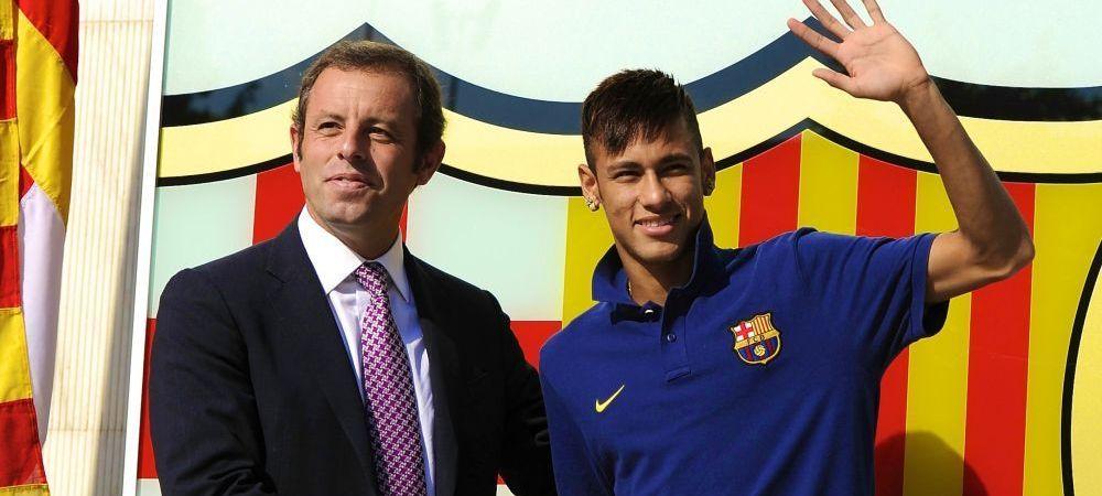 """""""Mi-au dat patru prezervative si patru pungi de vaselina!"""" :) Presedintele care il aducea pe Neymar la Barcelona face niste declaratii incredibile dupa ce a fost inchis doi ani"""