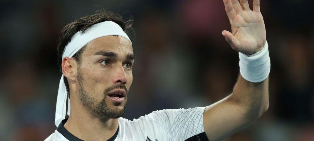 """Fabio Fognini crede ca sezonul de tenis e terminat! """"Eu in Asia nu mai merg sa joc"""""""