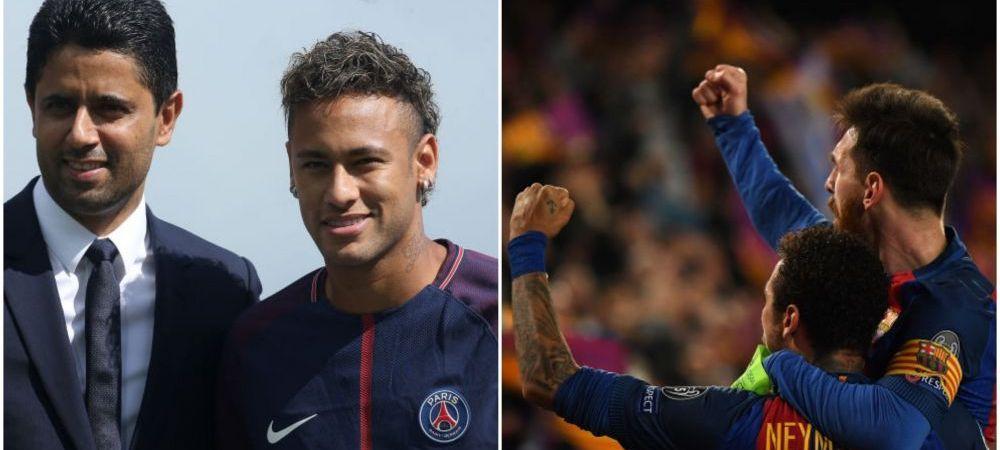 Neymar, fata in fata cu decizia carierei: banii sau fericirea! Cat ar pierde brazilianul in cazul unui transfer la Barcelona