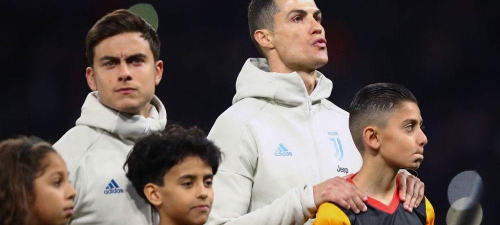 """Afirmatia care nu ii va placea lui Ronaldo! Anuntul facut de un jucator al lui Juventus: """"Cel mai puternic coechipier e Dybala!"""""""