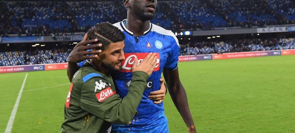Manchester United il vrea pe Koulibaly, iar Napoli il inlocuieste cu un jucator de la Barcelona