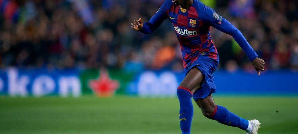 Ousmane Dembele este pe picior de plecare de la Barcelona! Doua cluburi din Premier League se bat pe semnatura lui