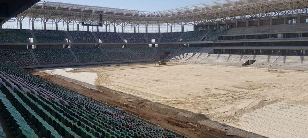 Fotografii SPECTACULOASE la stadionul Steaua! Arena este aproape FINALIZATA: se monteaza nocturna! Ministrul Sportului a mers in inspectie