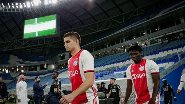 Razvan Marin are oferte din Anglia si Italia! Mijlocasul roman o poate parasi pe Ajax in vara