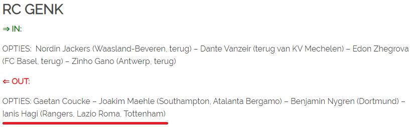Incepe competitia pentru Ianis! Tottenham a intrat in lupta cu Rangers si Lazio pentru semnatura mijlocasului roman! Anuntul de ultima ora al belgienilor