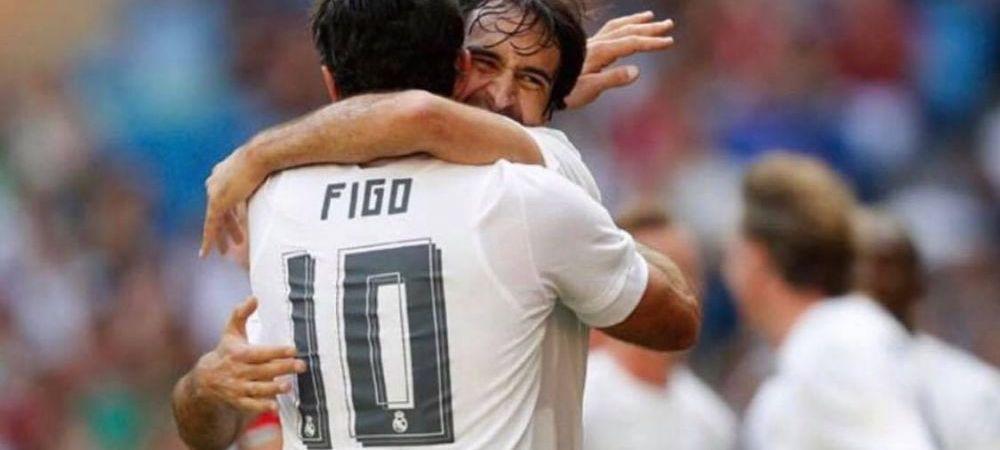 """Amintiri din epoca galactica! Luis Figo marturiseste de ce a ales sa """"TRADEZE"""" Barcelona pentru rivala, Real Madrid"""