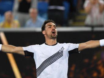 """Incursiune in viata lui Fabio Fognini: """"La 18 ani mi s-a spus ca am o sansa de 50% sa nu mai joc tenis niciodata. Atunci am inceput sa plang ca un copil"""""""