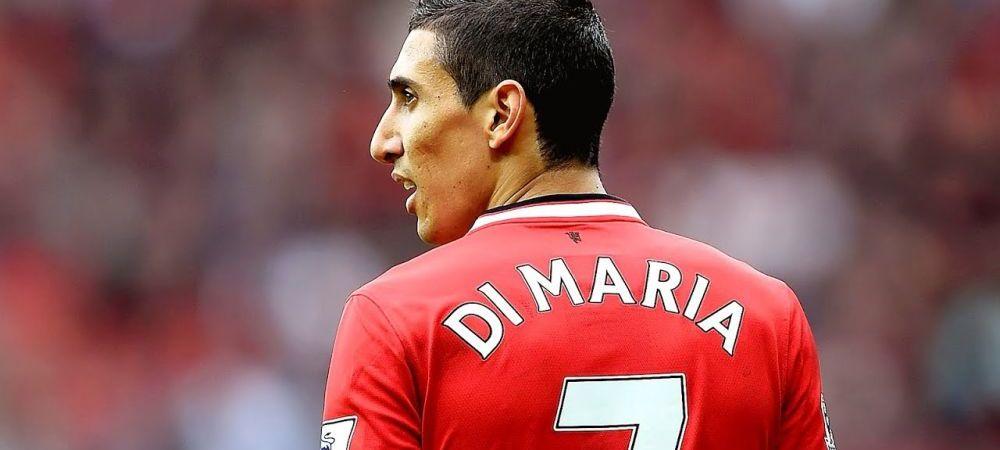 """E oribil in Manchester, e un r...t!"""" Sotia lui Di Maria povesteste prin ce a trecut jucatorul la Manchester United: """"Am fost oamenii banilor!"""""""