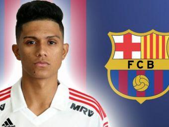 """Barcelona il transfera pe noul Neymar! Catalanii sunt aproape sa finalizeze tranzactia unui brazilian de 19 ani: """"Mutarea se rezolva in zilele urmatoare"""""""