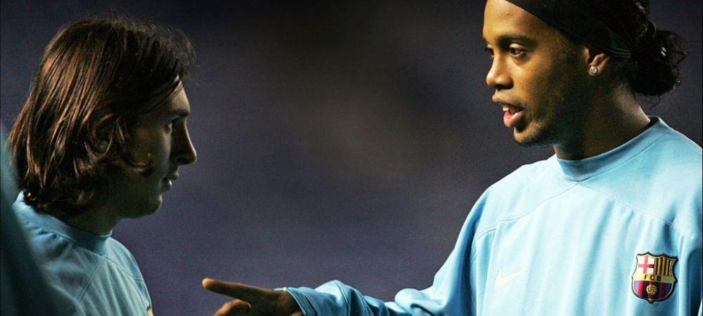"""La ce club din Premier League putea ajunge Ronaldinho! """"S-a razgandit in ultimul moment!"""" Brazilianul a semnat cu Barcelona, club pentru care a scris istorie"""