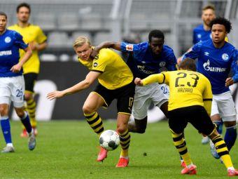 Imaginea care face acum inconjurul lumii! Cum s-a bucurat Haaland dupa golul marcat in SUPER derby-ul cu Schalke