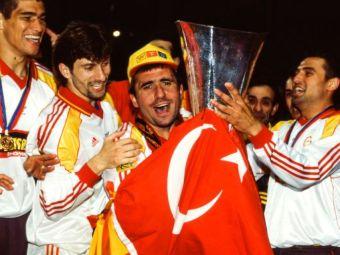 Ziua in care Hagi si Popescu au cucerit EUROPA! UEFA aminteste de super-performanta romanilor cu Galatasaray