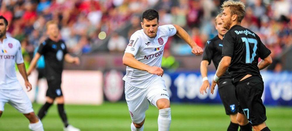 Se face TRANSFERUL! George Tucudean o paraseste pe CFR Cluj pentru rivala Craiova
