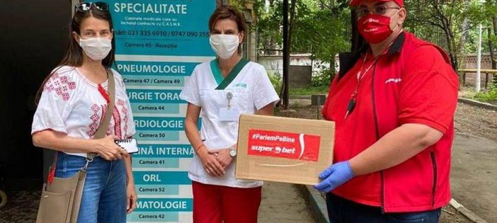 (P) Campania Superbet #PariemPeBine continuă. Trei noi spitale au beneficiat de teste și alte mijloace de protecție în contextul coronacrizei