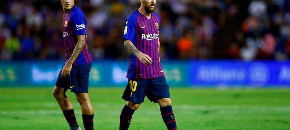 """Manchester United a pus ochii pe un jucator de la Barcelona! Catalanii vor cu orice pret sa scape de el! Ce lovitura pot da """"diavolii rosii"""""""