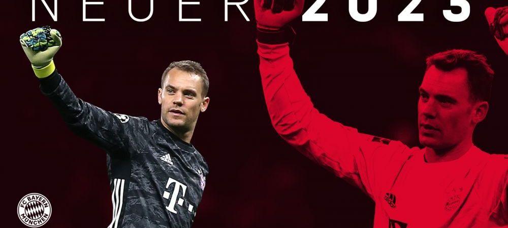 Neuer ramane la Bayern pana in 2023! Anunt OFICIAL facut astazi: supercampioana Germaniei a luat o decizie neasteptata