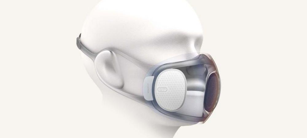 Masca transparenta care se dezinfecteaza SINGURA si se incarca la USB! Inventia momentului poate rezolva problemele a milioane de romani