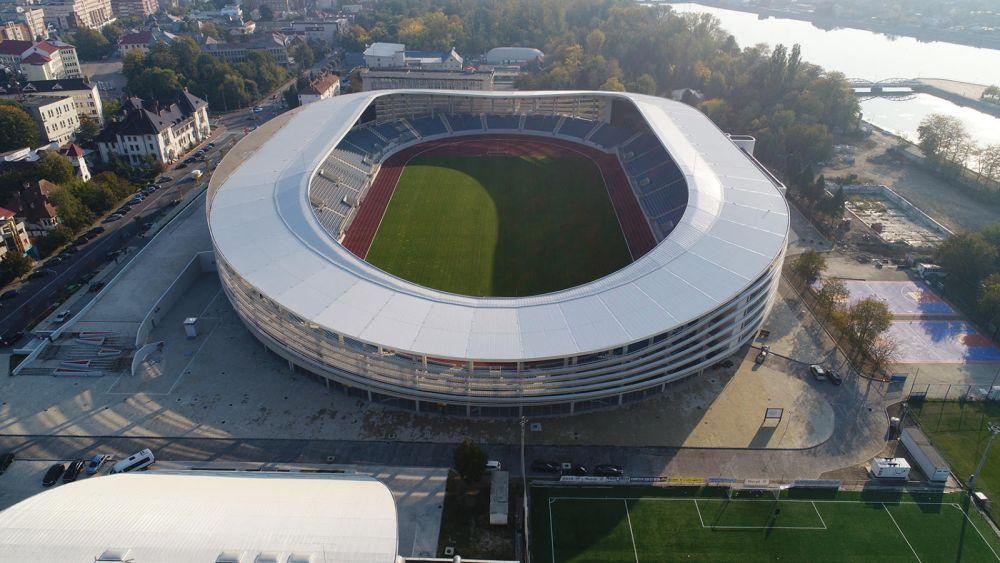 Super-stadionul de zeci de milioane din Targu Jiu, ABANDONAT! Pandurii va juca in alta parte meciurile de acasa din cauza neintelegerilor cu autoritatile