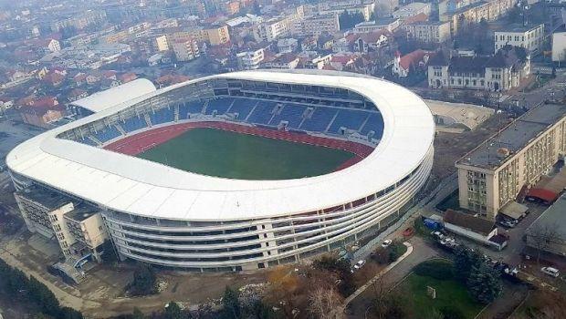 Super-stadionul de zeci de milioane din Targu Jiu, ABANDONAT! Pandurii va juca in alta parte meciurile de acasa