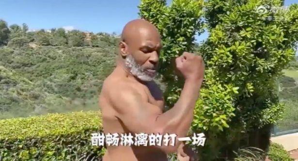 """""""Sunt pe cale sa revin!"""" Ultimul VIDEO cu Mike Tyson arata forma de invidiat in care se afla la 53 de ani"""