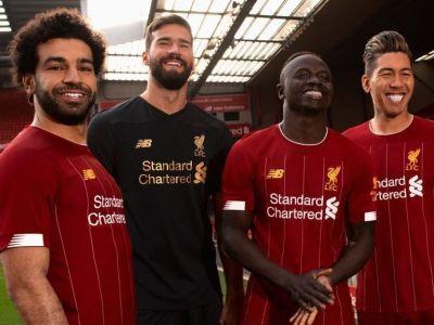 Liverpool pune Nike pe hold! Se va bucura pentru titlu in echipamentul New Balance, desi contractul expira pe 1 iunie