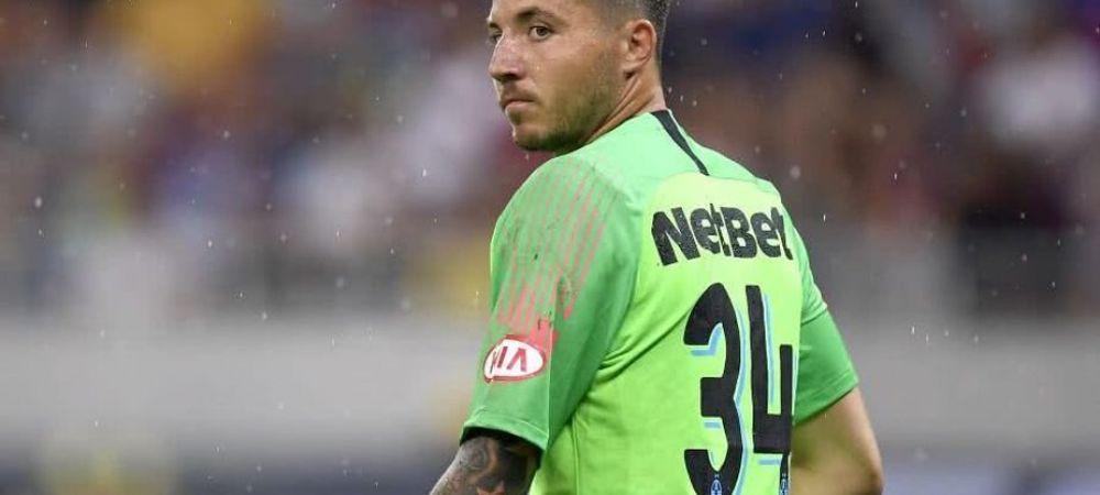 I-a dat dauna totala lui Gigi Becali, acum va vedea meciurile din tribuna! Ce se intampla cu Balgradean dupa ce a semnat cu CFR Cluj! Anunt de ultima ora despre situatia portarului
