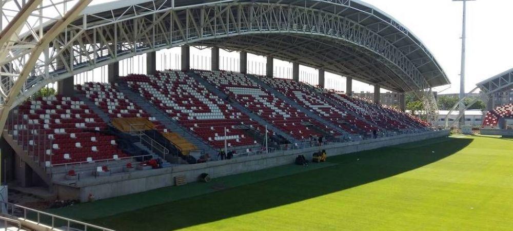 GALERIE FOTO | UTA Arad are motive de bucurie dupa ce FRF i-a injumatatit punctele! Noul stadion este ca si finalizat si se asteapta meciurile cu FCSB si Dinamo