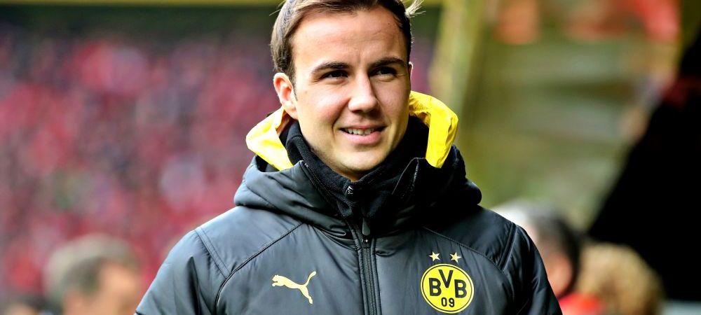 Gotze, OUT de la Dortmund! Eroul titlului mondial din 2014 pleaca gratis de la Borussia