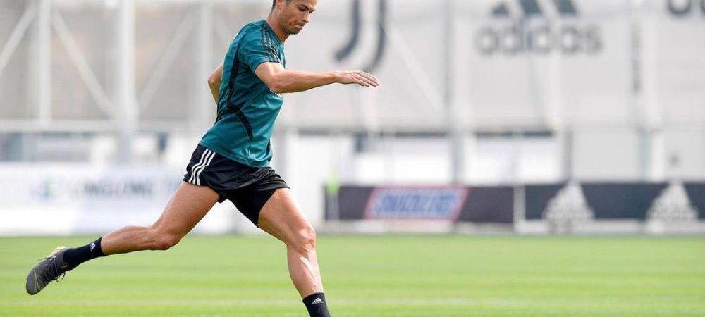 Ii vine sa EXPLODEZE! In mare forma dupa 2 luni de carantina! Cum a aparut Ronaldo la antrenamentul de azi al lui Juve