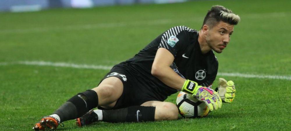 Ce se intampla cu Balgradean din vara! Un oficial al lui CFR Cluj a facut anuntul in legatura cu portarul FCSB