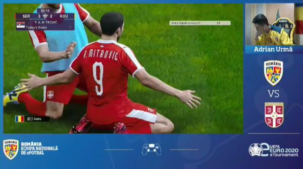Suntem blestemati si la PES?! INCREDIBIIIL! Romania, SCOASA din semifinalele eEuro 2020 cu gol in minutul 89! Am avut BARA in prelungiri! VIDEO