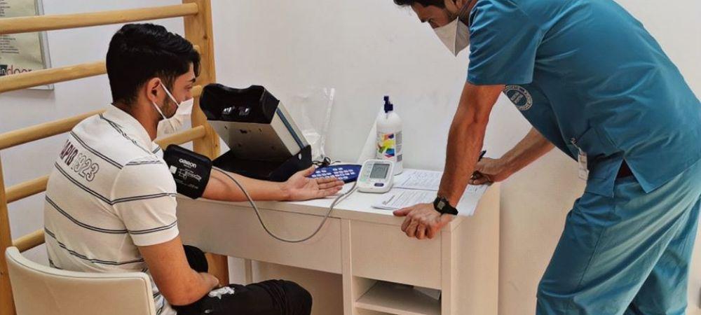 O noua saptamana, un nou test pentru rapidisti! Giulestenii au facut vizita medicala