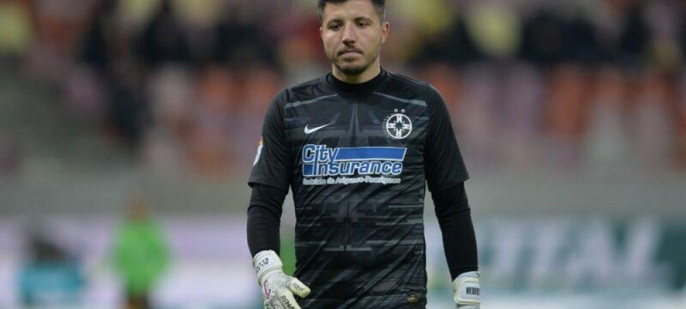 Tradarea dusa pana la capat! Balgradean a inceput antrenamentele cu CFR Cluj chiar daca nu i s-a terminat contractul cu FCSB! Cum a ajuns portarul in Gruia