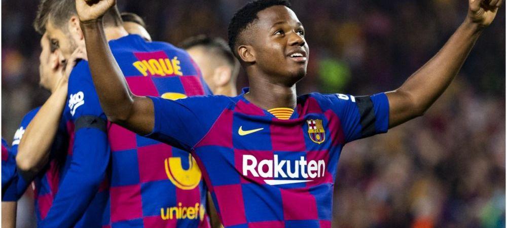 Un club din La Liga vrea sa cumpere 5 jucatori de la Barcelona! Ansu Fati e in primul pe lista! Ce nebunie se incearca
