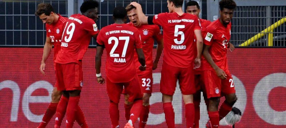 Bayern Munchen se impune in deplasarea de la Dortmund prin golul lui Kimmich, 1-0! | Wolfsburg a facut INSTRUCTIE in deplasarea cu Leverkusen, 4-1