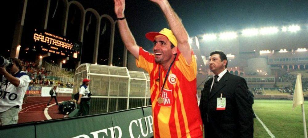 VIDEO | Gest IMPRESIONANT din partea lui Galatasaray pentru Gica Hagi! Turcii il sarbatoresc pe 'REGE' la 19 ani de la retragere