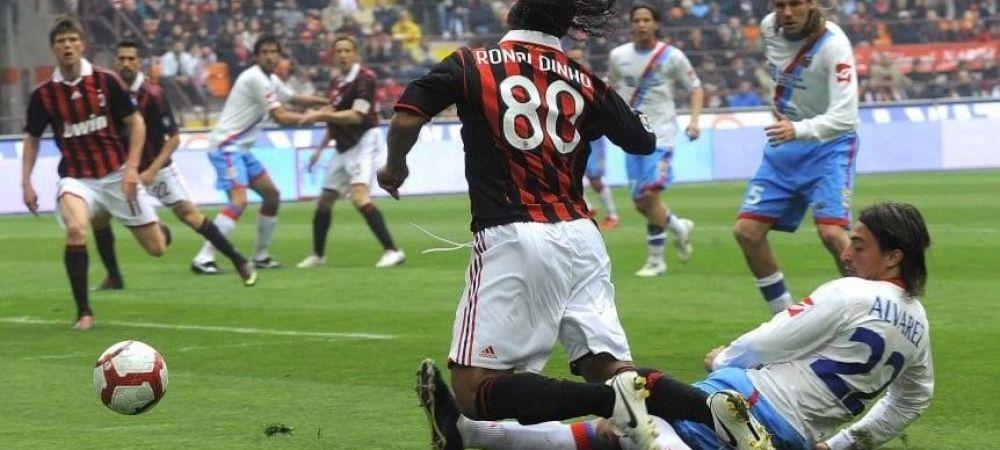 """""""Te rog sa nu ma mai lovesti!"""" Cine l-a facut pe Ronaldinho sa sufere pe gazon"""