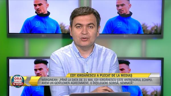 """""""Mi-a cerut asta!"""" Motivul pentru care Edi Iordanescu a plecat de la Medias! Anuntul facut de presedintele clubului"""