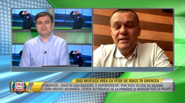 """""""Noi jucam in Ghencea!"""" Gheorghe Mustata face anuntul momentului! Ce mesaj are pentru toti suporterii FCSB-ului si pentru Gigi Becali"""