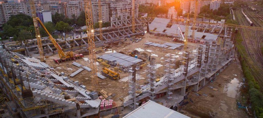 Stadionul Rapidului prinde contur! Cum arata ultimele fotografii cu arena de 14.000 de locuri din Giulesti