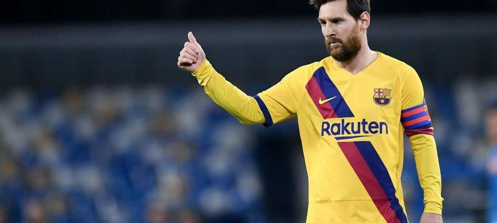 """""""Cand vom juca din nou, va fi ca si cum o vom lua de la 0!"""" Reactia lui Messi cu privire la revenirea fotbalului"""