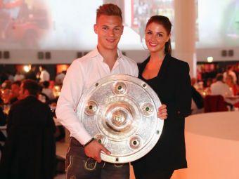 """Ea a facut-o campioana pe Bayern! :) Muza care il inspira pe """"magicianul"""" Kimmich"""