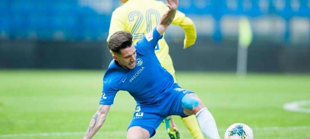Pandemia nu l-a scos din forma pe Alex Baluta! Fostul jucator al Craiovei i-a adus victoria lui Liberec in ultimul meci de campionat