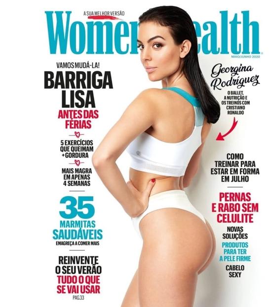 Aparitie INCENDIARA a iubitei lui Ronaldo pe coperta unei reviste! Cum s-a pozat Georgina
